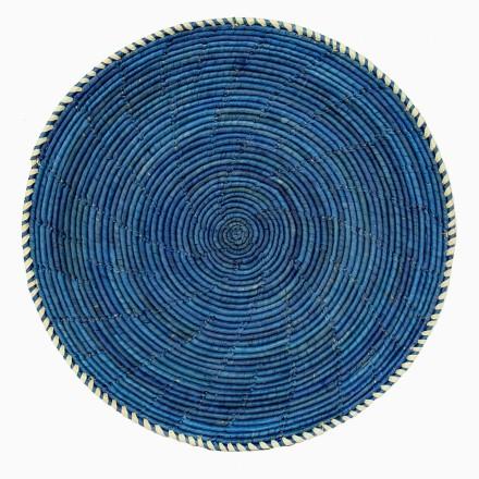 SPICE NATURAL flacher Korb blau