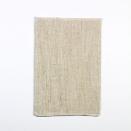 Peelinghandschuh Ziegenhaar, Leinen