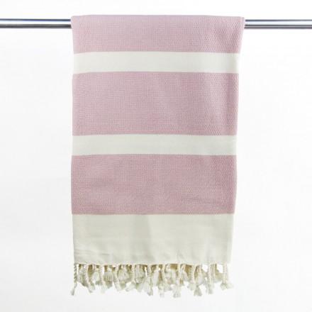 Hamamtuch Bio-Baumwolle rosa
