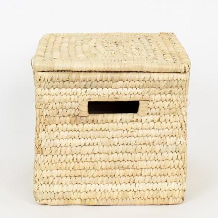 PALM rechteckiger Korb mit Deckel