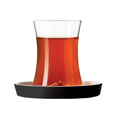 6er Set Teeglas Istanbul Tiryaki schwarz