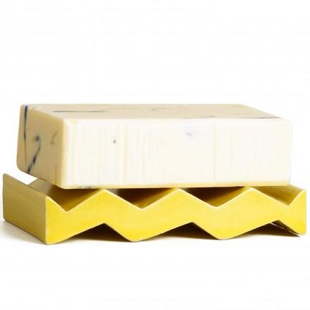 Seifenschale Rocky M gelb